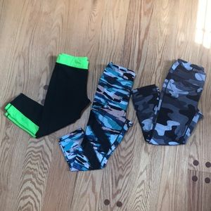 Workout legging bundle